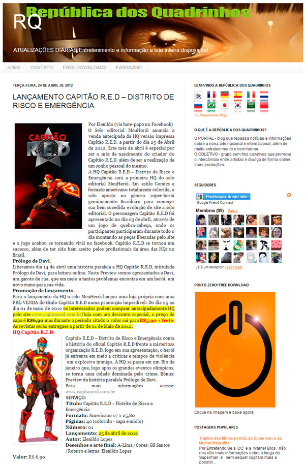 República dos quadrinhos